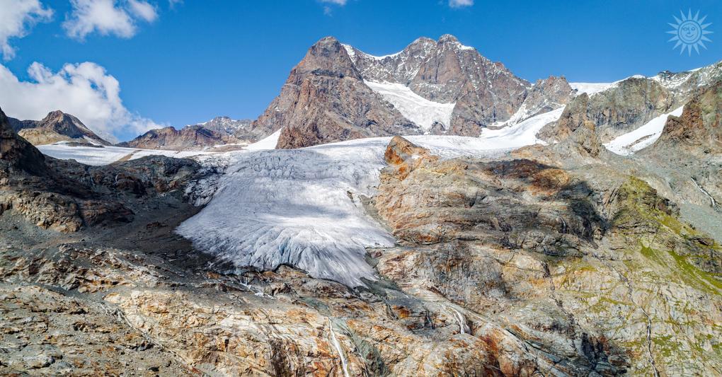 lo scioglimento dei ghiacciai paesaggio alpino