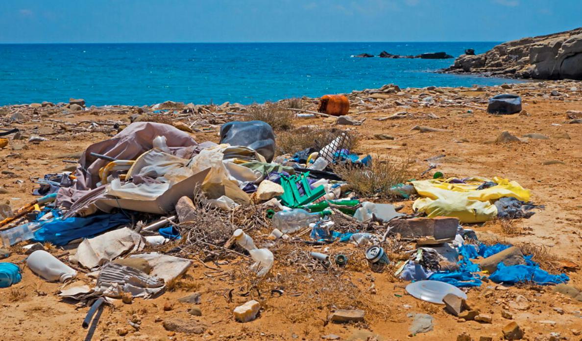 L'inquinamento dei mari e delle spiagge